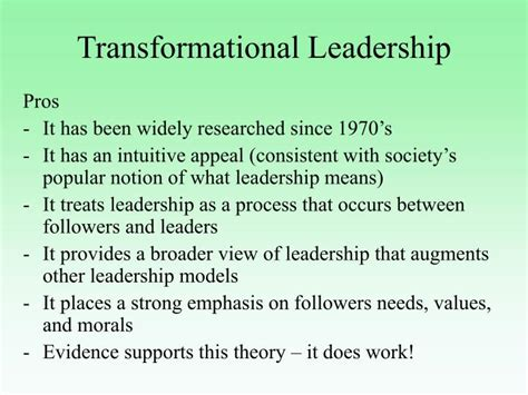 leadership theories powerpoint  id