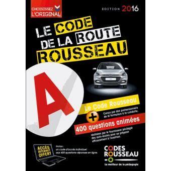cours de code de la route 2016 code rousseau de la route 2016 broch 233 collectif achat livre achat prix fnac