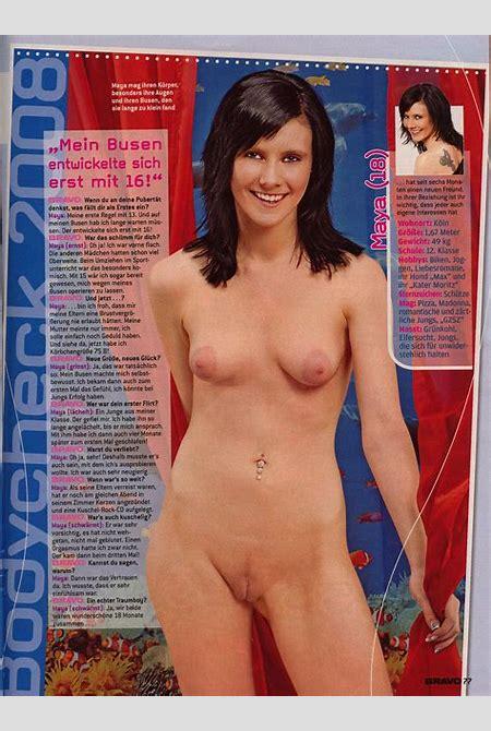 Bravo magazine nude girl