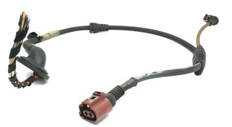 rear brake abs sensor wiring harness pigtail plug 09 16 audi a4 b8 8t0 973 702 carparts4sale