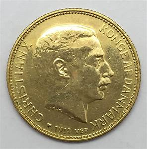 1914 20 Kroner Danish Gold Coin | eBay