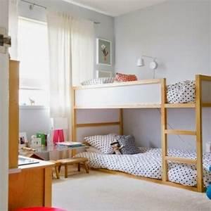 Kleines Kinderzimmer Ideen : kleines kinderzimmer mit hoch oder etagenbett einrichten freshouse ~ Indierocktalk.com Haus und Dekorationen