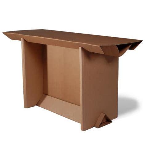 Table Haute Ixi 200x78x110 Cm En Carton