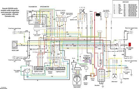 Suzuki Wiring Diagram Motorcycles Pinterest