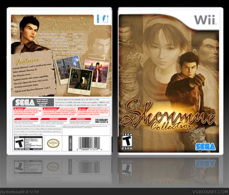 Shenmue Collection Wii Box Art Cover By Brettska99
