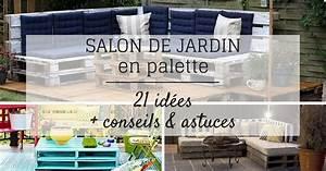 Salon De Jardin En Palette Tuto : salon de jardin en palette 21 id es d couvrir ~ Dode.kayakingforconservation.com Idées de Décoration