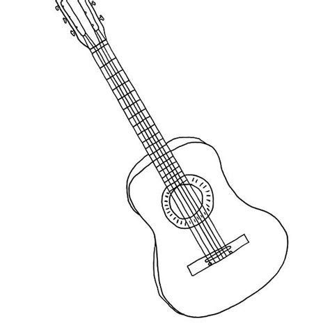 print  pages marcelines guitar coloring pages