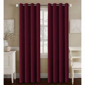 Burgundy curtains for living room roy home design for Maroon curtains living room