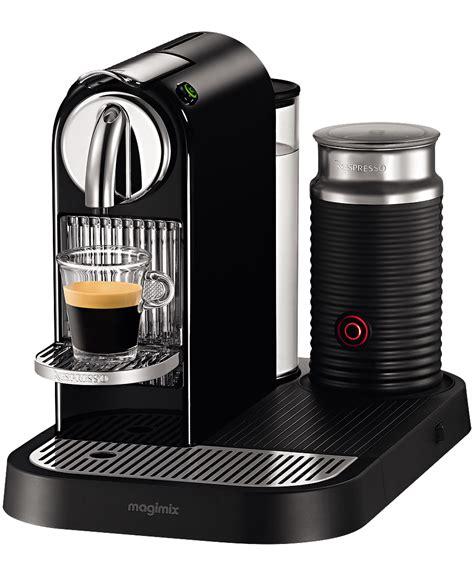 Machine Nespresso Magimix Nespresso Citiz Milk Limousine Black Magimix M190 Coffee And Nothing Else Coffee