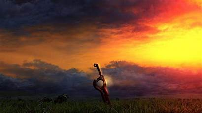 Xenoblade Chronicles Wallpapers Background Title Screen Desktop