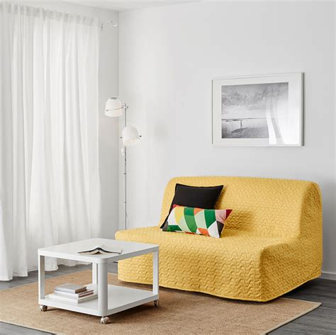 canapé lycksele ikea fauteuil jaune la couleur intemporelle et tendance