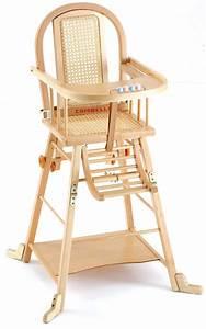Chaise Haute Bébé Bois : chaise haute bois b b ouistitipop ~ Melissatoandfro.com Idées de Décoration