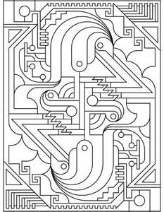Dover Art Deco Coloring Book Pages