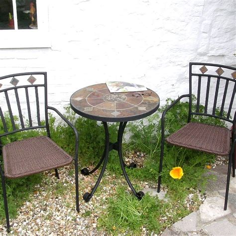 Small Patio Table Set by Small Patio Garden Furniture Set Ondara Patio Set Candle