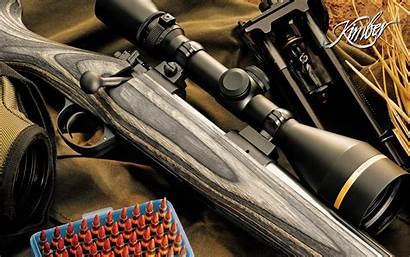 Kimber Rifle Bolt Wallpapers Action Scope Weapons