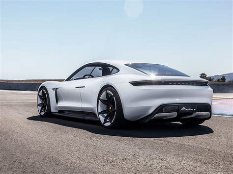 porsche electric porsche s electric mission e gets its own superchargers