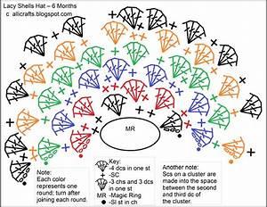 Alli Crafts  Free Pattern  Lacy Shells Hat