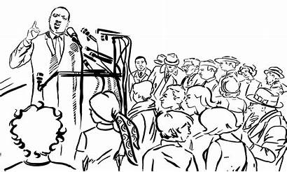 Speech Inspired King Jr Luther Martin