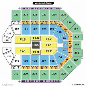 Van Andel Arena Seating Chart Seating Charts Tickets
