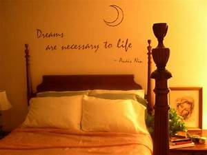 Bedroom wall decor letters words and quotes by