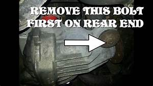2005 Ford Explorer Rear Differential Rear End Removal