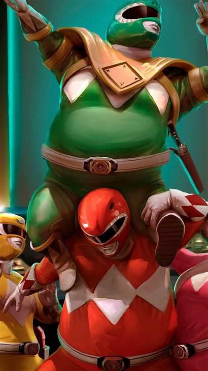 Power Rangers Fat Iphone Ranger Wallpapers Dank