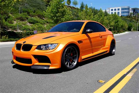 2014 Bmw Vorsteiner E92 M3 Gtrs3 In Pearl Orange (arancio