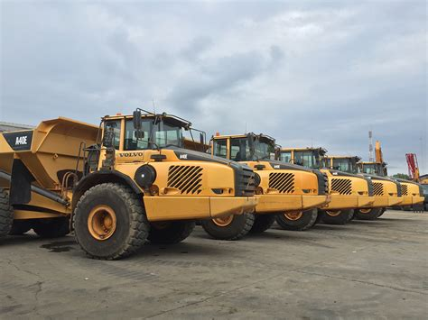 volvo ae articulated dump truck pt central indo machinery