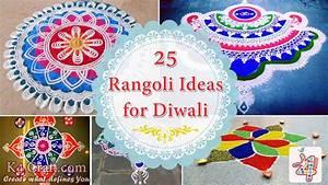 25 Beautiful Rangoli Ideas for Diwali - K4 Craft