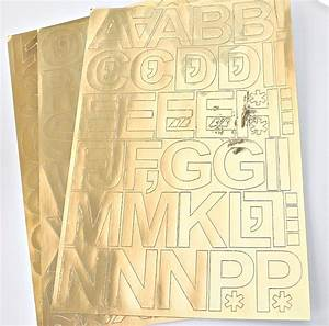 monogramming tricks with vinyl gold foil letters With gold foil vinyl lettering