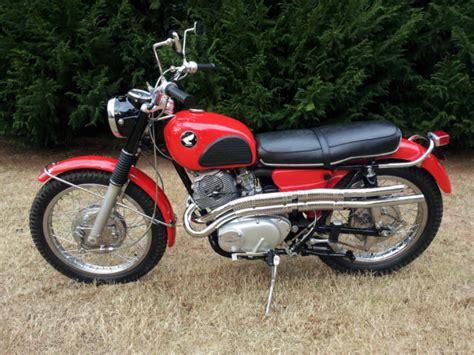 Beautiful 1966 Honda Cl77 305 Scrambler Vintage Motorcycle