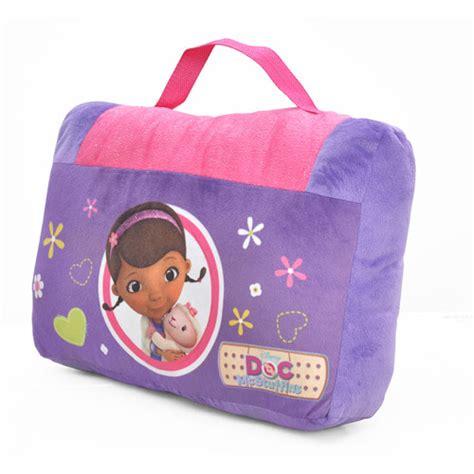 doc mcstuffins pillow doc mcstuffins on the go pillow and slumber bag set