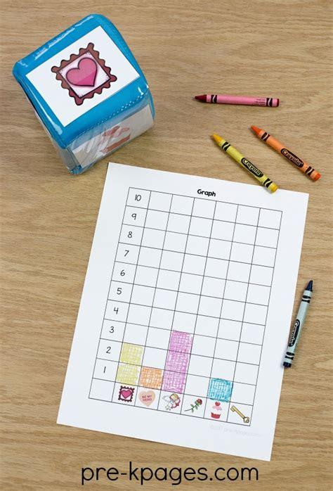 valentines day theme activities for preschool 741 | Printable Valentine Graphing Activity for Preschool