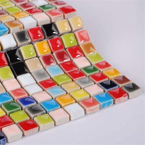 multi color ceramic floor tile multi color porcelain tile kitchen floor small chips glazed multi color backsplash tile in