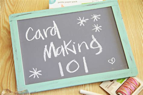 make cards unify handmade card making 101 chapter 1