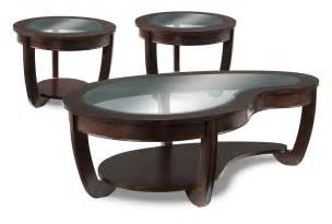 kitson coffee table and two end tables cherry leon s