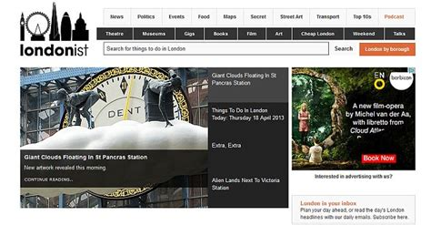 Best Websites For Exploring London  Daily Mail Online