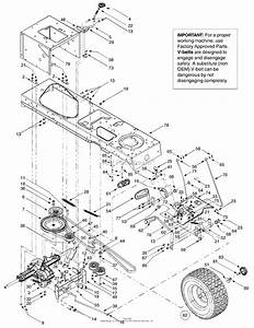 Troy Bilt 13at609h063 Ltx2146  2003  Parts Diagram For