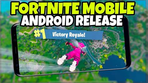 fortnite mobile  android release date  phones