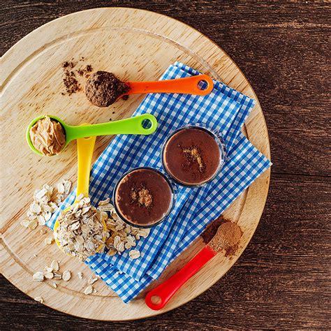 Banana almond milk smoothie diabetic recipe diet plan 101 17. Almond milk, cinnamon, cocoa powder, banana, peanut butter, oats and ...