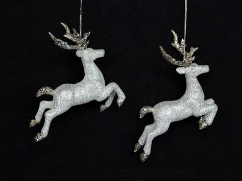 reindeer silver diamond christmas ornament gorgeous decorations for your home in hong kong