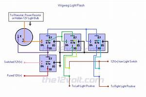 Wigwag Flashing Lights - Positive Input  Positive Output