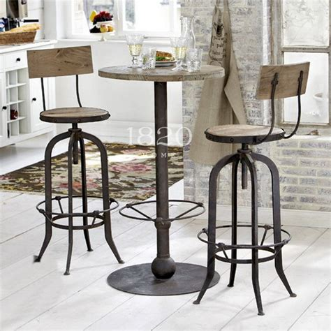 american vintage wrought iron tables and chairs can lift