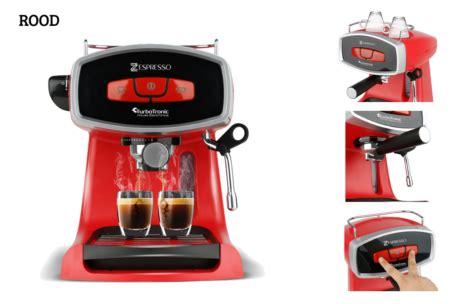 marktplaats espresso machine zespresso barista koffiemachine marktplaats aanbieding