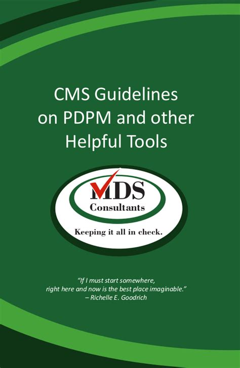 pdpm resource guide mds tools consultants
