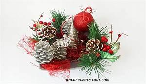 Art Floral Centre De Table Noel : centre de table merveilleux no l ~ Melissatoandfro.com Idées de Décoration