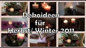 Deko Herbst 2017 : 11 dekoideen f r herbst 2015 youtube ~ Watch28wear.com Haus und Dekorationen