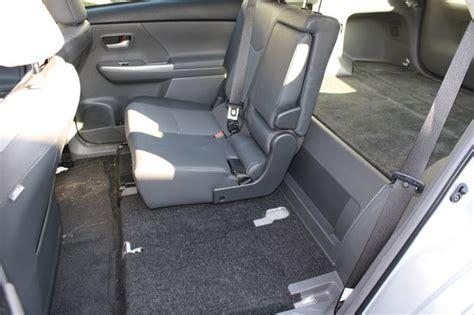 remove  rear seats   toyota prius