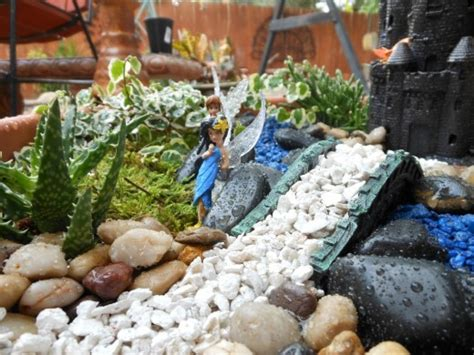 jardines de hadas en miniatura paso a paso