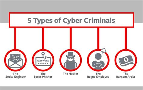 5 Types Of Cyber Criminals